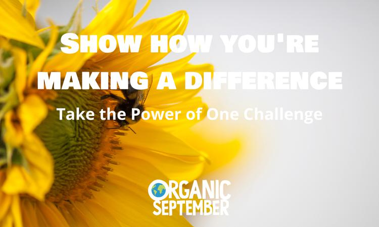 Power of One Challenge - Win Organic Products