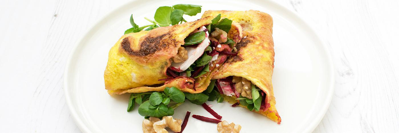 Omelette wrap