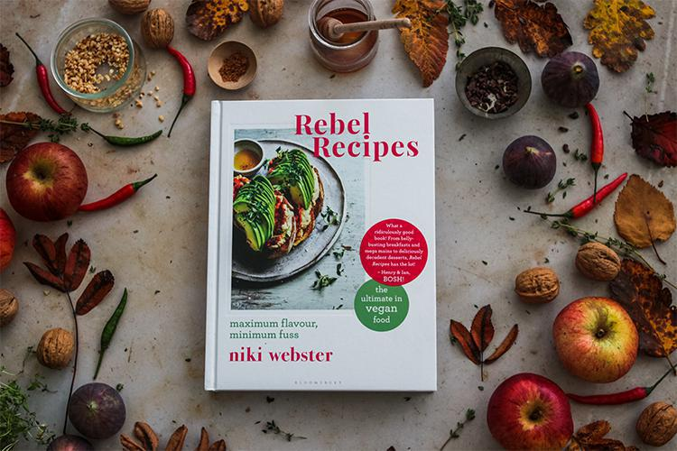 Win a copy of Niki Webster's new vegan cookbook